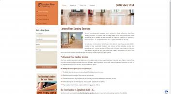 London Floor Sanding Services