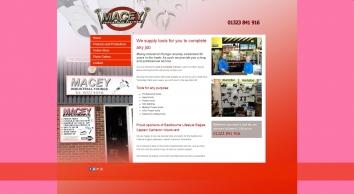 Macey Industrial Fixings