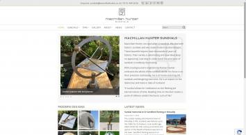 Macmillan Hunter Garden Sundials