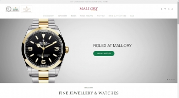 Mallory Jewellers Bath -  Fine Jewellery, Bespoke Commissions, Swiss Watches and Luxury Accessories