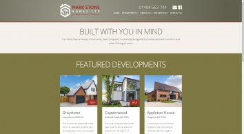 Mark Stone Homes - New Home Builders in Oxfordshire and Buckinghamshire