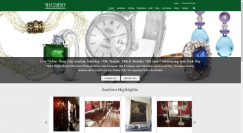 Antique & Fine Art Auctioneers | Matthews Auction Rooms - Ireland