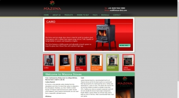 Cast Iron Carbon Neutral Multi Fuel Stoves | Mazona Stoves