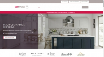 Fitted Interiors from Keller Kitchens, Laura Ashley, Milano by Mike Hughes Fitted Interiors