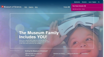 Museum of Science, Boston: Home