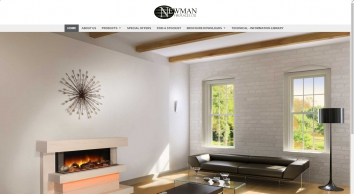 Newman Fireplaces Homepage