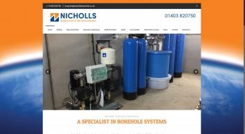 Nicholls Boreholes | Water Boreholes, Deep Bore Soakaways and Ground Source Heat Pumps