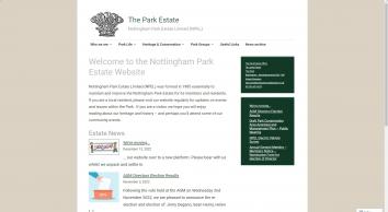 The Nottingham Park Estate Limited ::