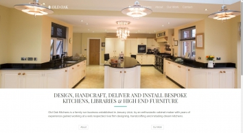 Old Oak Kitchens - Bespoke Handmade Kitchens in Wales