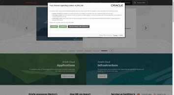 Oracle United Kingdom   Integrated Cloud Applications and Platform Services