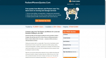 Packers Movers Quotes