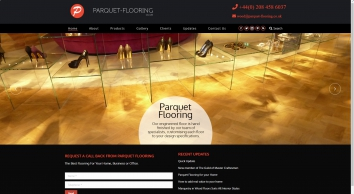 Parquet flooring for engineered wood flooring, hardwood floors and oak flooring
