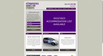 PJ Properties - Quality student accommodation in Sheffield