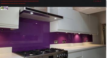 Purple Frog | Kitchen Glass Splashbacks