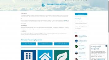 Rainharvesting Systems Ltd - Rainwater harvesting specialists