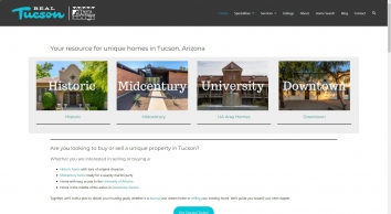 RealTucson.com | Historic homes | Mid Century Homes | Downtown | Near UA
