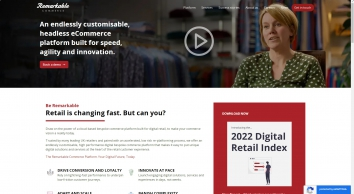 Remarkable   Leading SaaS eCommerce & Web Development Agency