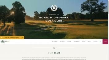 Royal Mid Surrey Golf Club