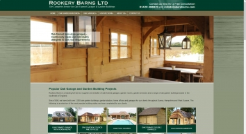 Oak Framed Buildings and Barns in Surrey, Sussex & Hampshire, UK