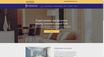 N shields – painters and decorators – York and the surrounding areas