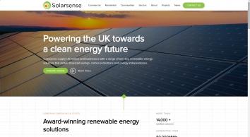About Solarsense | Solar Panels | Battery Storage | Carports | Heating