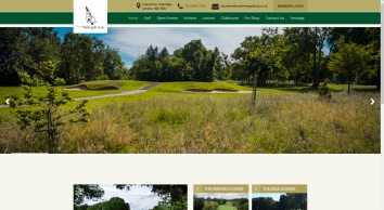 Home :: South Herts Golf Club - Home of the Vardon Grip