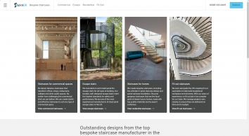 Spiral Staircases, Straight & Helical Stairs Manufacturer - Spiral UK