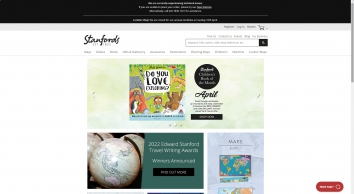 Maps, Atlases, Travel Guides, Travel Books and Globes | Stanfords