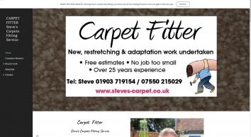 Carpet Fitter Steve\'s Carpets Fitting Service