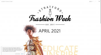 Stratford Trashion Week | Reduce, Reuse, Recycle and Strut Your Stuff