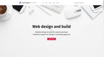 Stuart Magog Design: Freelance Web Designer Bristol