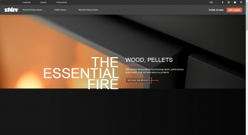 Stûv - Fitted stoves, Wood-burning stoves, Ready-to-fit fireplaces