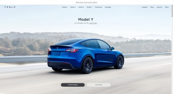 Tesla | Premium Electric Saloons and SUVs