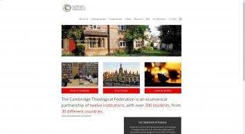Cambridge Theological Federation