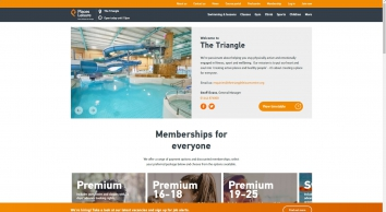 The Triangle Leisure Centre | Burgess Hill  - Places for People Leisure