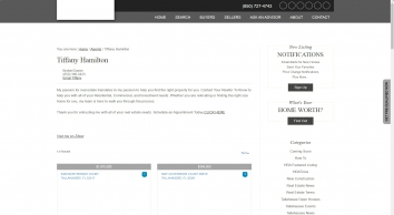 Tiffany Hamilton Broker/Realtor