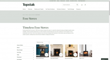 Esse Stoves - Woodburner/Multifuel Authorised Supplier | South Wales | Topstak