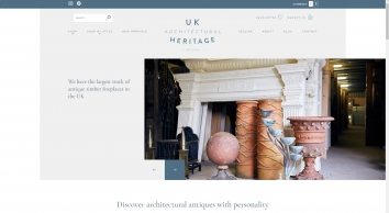 UK Architectural Heritage architectural salvage, antiques and reclamation