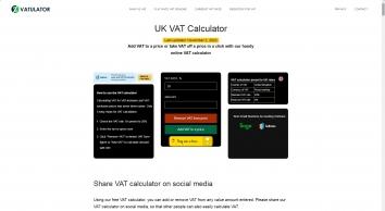 Online VAT calculator   VATulator