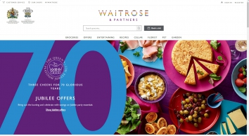 Waitrose - Online Grocery Shopping   Free Delivery   Recipes   Wine   Party Food