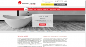 Red Kitchen & Bathrooms