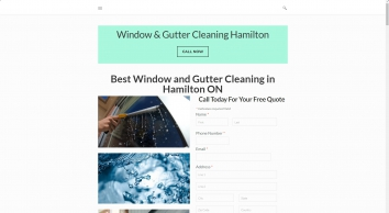 Window and Gutter Cleaning | Hamilton, ON, CA