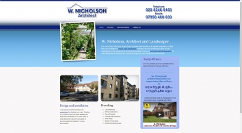 W J Nicholson Chartered Architect & Garden Design