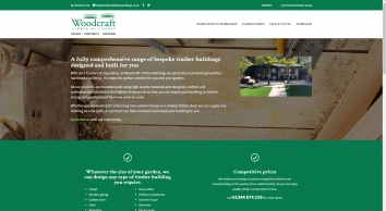 Quality timber buildings from Woodcraft Timber Buildings Ltd in Berkshire
