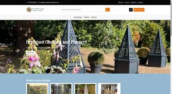 Wooden Garden Obelisk Designed and Built