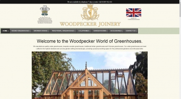Woodpecker Joinery UK LTD - Western Red Cedar Timber Greenhouses and Garden Buildings