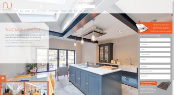 nuspace - loft conversion & kitchen extension