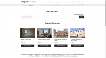 Acquire Properties screenshot