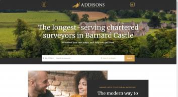 Addisons Chartered Surveyors screenshot