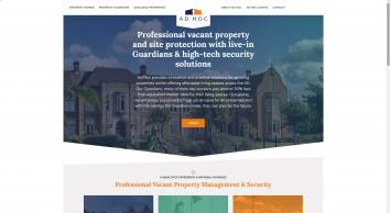 Ad Hoc Property Management Ltd screenshot